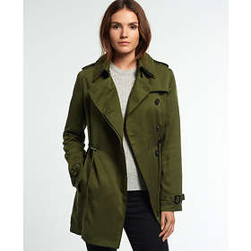 Superdry Draped Trench Coat (Dam)