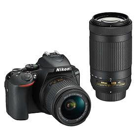Nikon D5600 + AF-P 18-55/3,5-5,6 VR + AF-P 70-300/4,5-6,3 VR