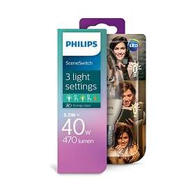 Philips SceneSwitch LED Candle 470lm 2700K E14 5,5W