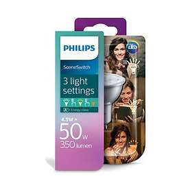 Philips SceneSwitch LED Spot 350lm 2700K GU10 4,5W (Dimbar)
