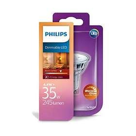Philips LED Classic 2700K GU10 4,5W (Kan dimmes)