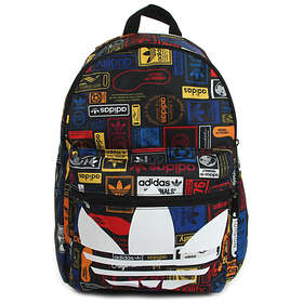 Find the best price on Adidas Originals Classic Trefoil Graphic Backpack  df996e1aa9fea