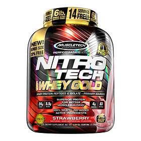 MuscleTech Nitro-Tech Whey Gold 2.72 kg