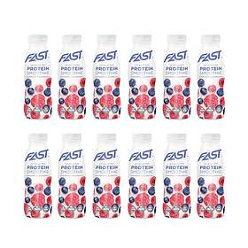 Fast Sports Nutrition Natural Protein Smoothie 330ml 12st