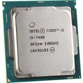 Intel Core i5 7400 3,0GHz Socket 1151 Tray