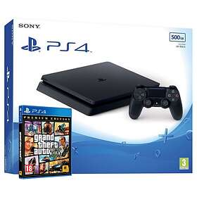 Sony PlayStation 4 Slim 500GB (incl. Grand Theft Auto V)