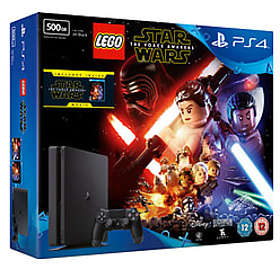 Sony PlayStation 4 Slim 500GB (incl. LEGO Star Wars: The Force Awakens + Movie)