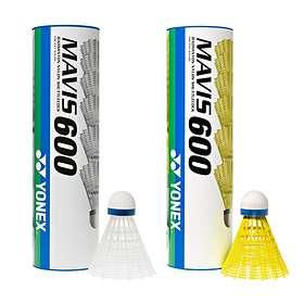 Yonex Mavis 600 Snabb (6 bollar)