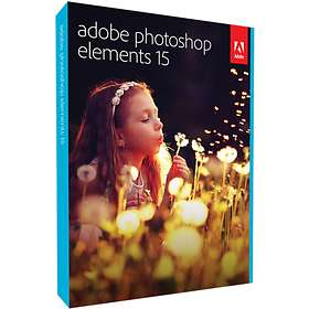 Adobe Photoshop Elements 15 Win/Mac Eng (Oppgradering)