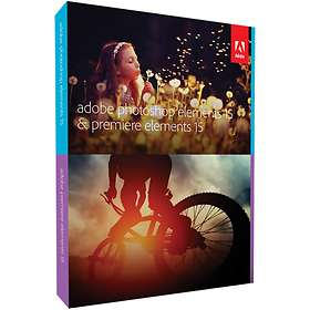 Adobe Photoshop & Premiere Elements 15 Win/Mac Eng (Oppgradering)