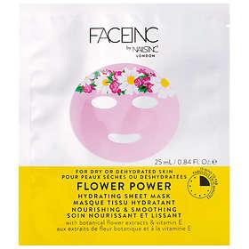 Nails Inc Face Inc Flower Power Hydrating Sheet Mask 25ml