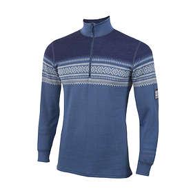 Aclima Designwool Marius Mock Neck LS Shirt Half Zip (Herre)