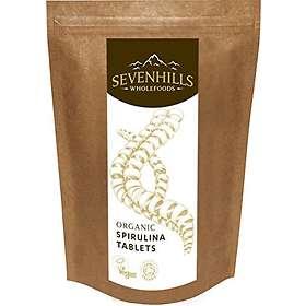 Sevenhills Wholefoods Organic Spirulina 500mg 500 Tablets