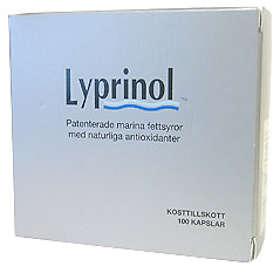 iQmedical Lyprinol 100 Kapslar