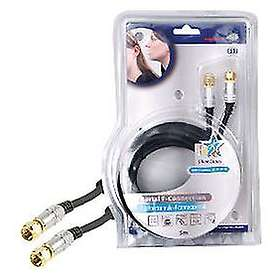 HQ Super Silver Antenna F-Contact 5m