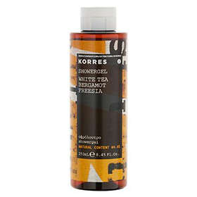Korres White Tea, Bergamot & Freesia Shower Gel 250ml