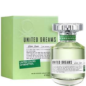 United Colors of Benetton United Dreams Live Free edt 80ml