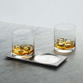 Buster+Punch Machined Whiskyglas 2-pack