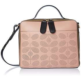 Orla Kiely Sixties Stem Punched Leather Iris Bag