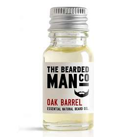 The Bearded Man Co Oak Barrel Beard Oil 10ml