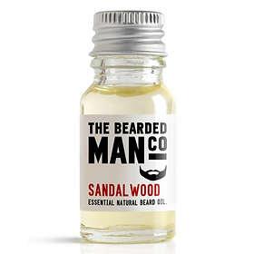 The Bearded Man Co Sandalwood Beard Oil 10ml
