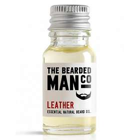 The Bearded Man Co Leather Beard Oil 10ml