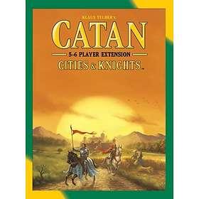 Mayfair Games Settlers of Catan: Byer & Riddere 5-6 Spillere (exp.)