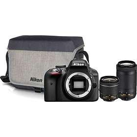 Nikon D3300 + AF-P 18-55/3.5-5.6 + AF-P 70-300/4.5-6.3