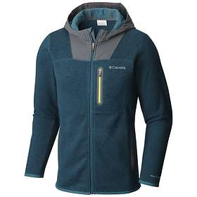 Columbia Altitude Aspect Full Zip Sweater-Face Hoody Jacket (Uomo)