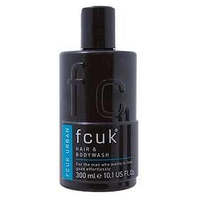 FCUK Urban Hair & Body Wash 300ml