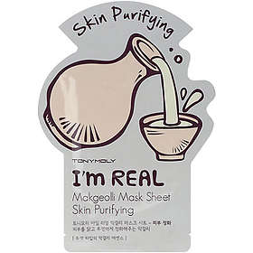 Tony Moly I'm Real Makgeolli Skin Purifying Mask Sheet 1st