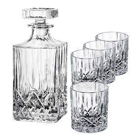 Aida Harvey Karaffel Med Lock 70cl Med 4 Whiskyglass 24cl