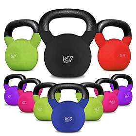 We R Sports SnatchFlex Rubber Coated Cast Iron Kettlebell 4kg