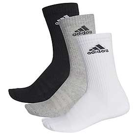 Adidas 3 Stripes Performance Crew Half Cushioned Sock 3-Pack