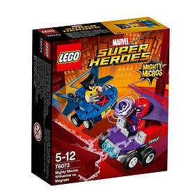 LEGO Marvel Super Heroes 76073 Mäktiga Mikromodeller: Wolverine mot Magneto