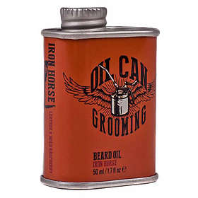 Oil Can Grooming Beard Oil Iron Horse 50ml
