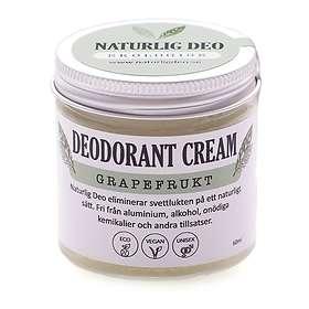 Naturlig Deo-Ekologisk Grapefrukt Deo Cream 60ml