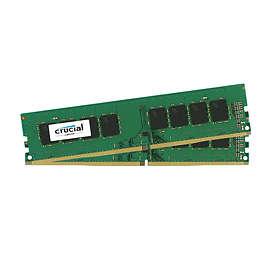 Crucial DDR4 2400MHz 2x4GB (CT2K4G4DFS624A)