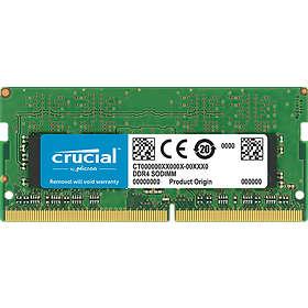 Crucial SO-DIMM DDR4 2400MHz 2Go (CT2G4SFS624A)