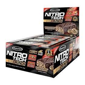 MuscleTech Nitro-Tech Bar 65g 12st