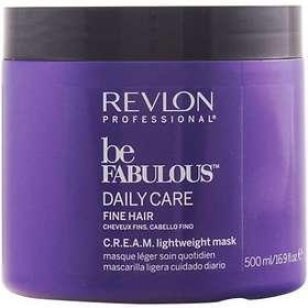 Revlon Be Fabulous Fine Hair Cream Light Mask 500ml
