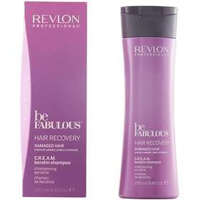 Revlon Be Fabulous Hair Recovery Cream Keratin Shampoo 250ml
