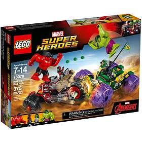 LEGO Marvel Super Heroes 76078 Hulk Mot Red Hulk