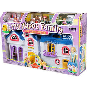 Keenway My Happy Family Doll House Playset