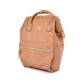 Anello Faux Leather Hinged Clasp Backpack