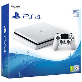 Sony PlayStation 4 Slim 500Go - White Edition