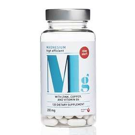 Biosalma Magnesium 200mg 120 Kapslar