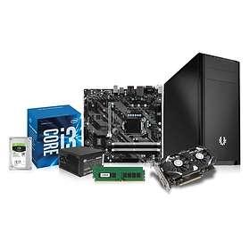 Komplett PC i delar Entry Gamer - 3,6GHz QC 8GB 250GB