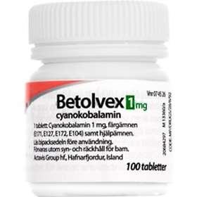 Betolvex Cyanokobalamin 100 Tabletter