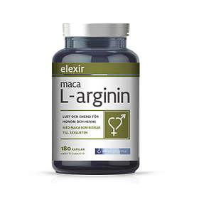 Elexir Pharma Maca L-Arginin 180 Kapslar